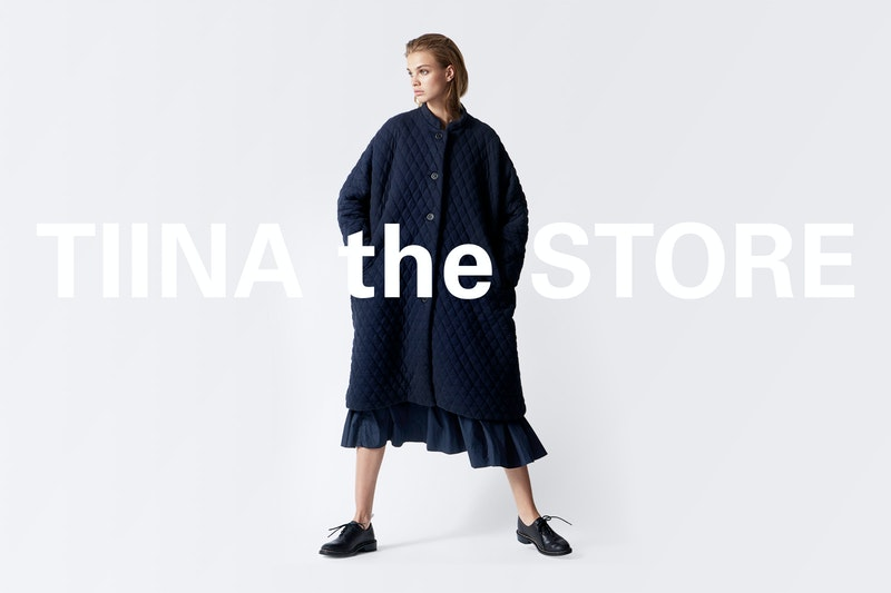 Ecommerce Web Design for Tiina the Store