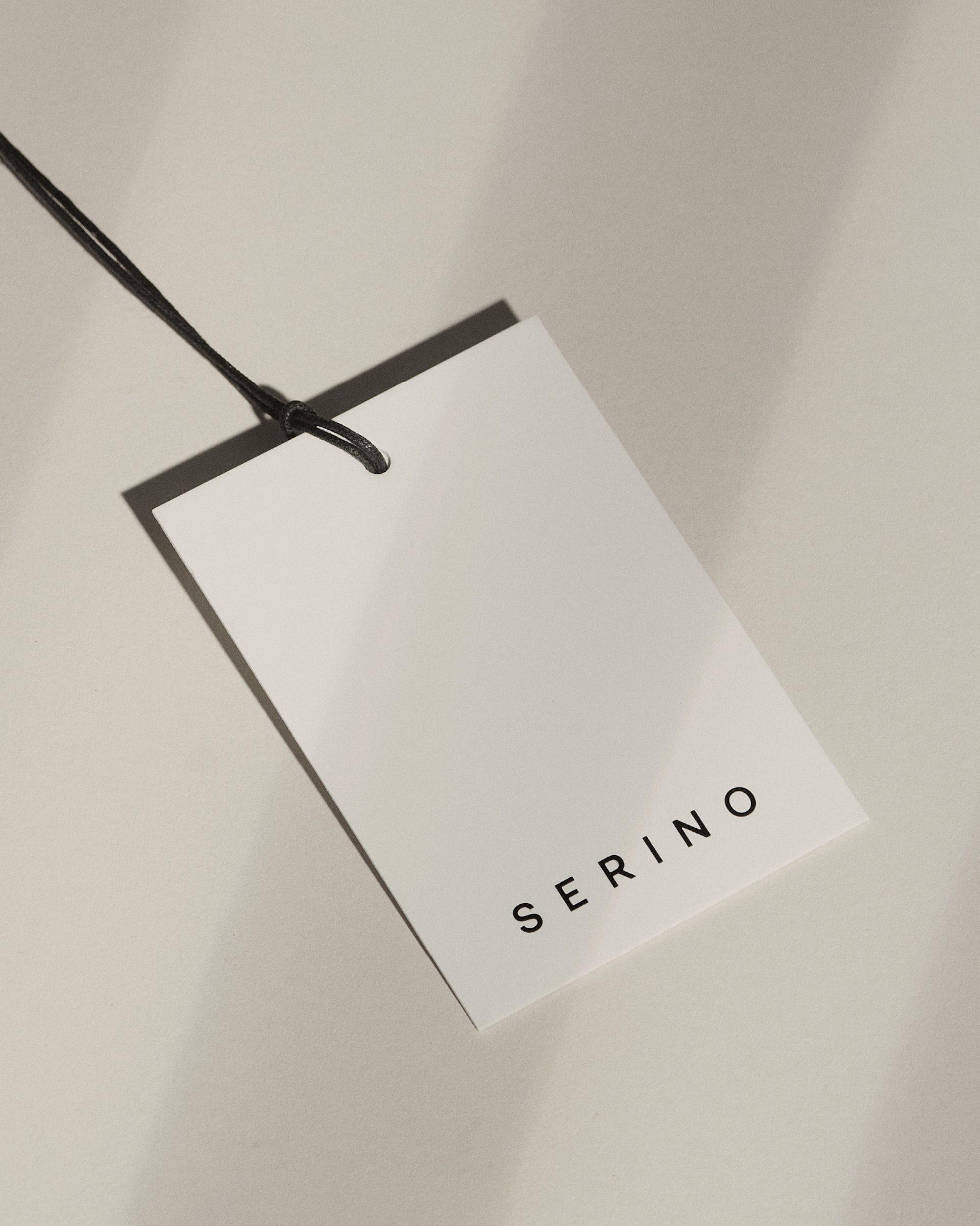 Serino Studio - Hangtag Design