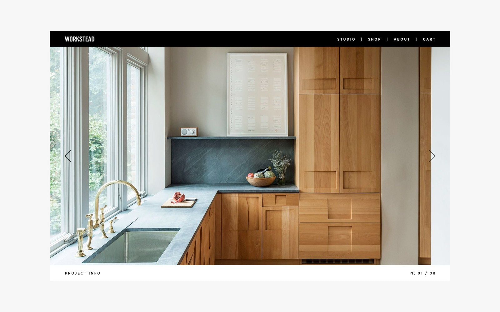 Web Design for Workstead Architecture Firm