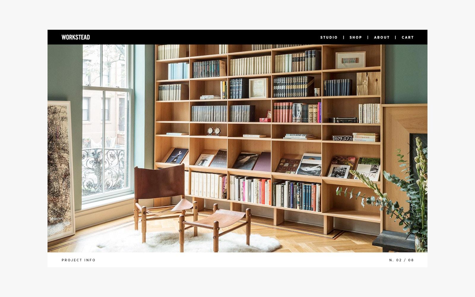 Web Design for Workstead Interior Design Firm