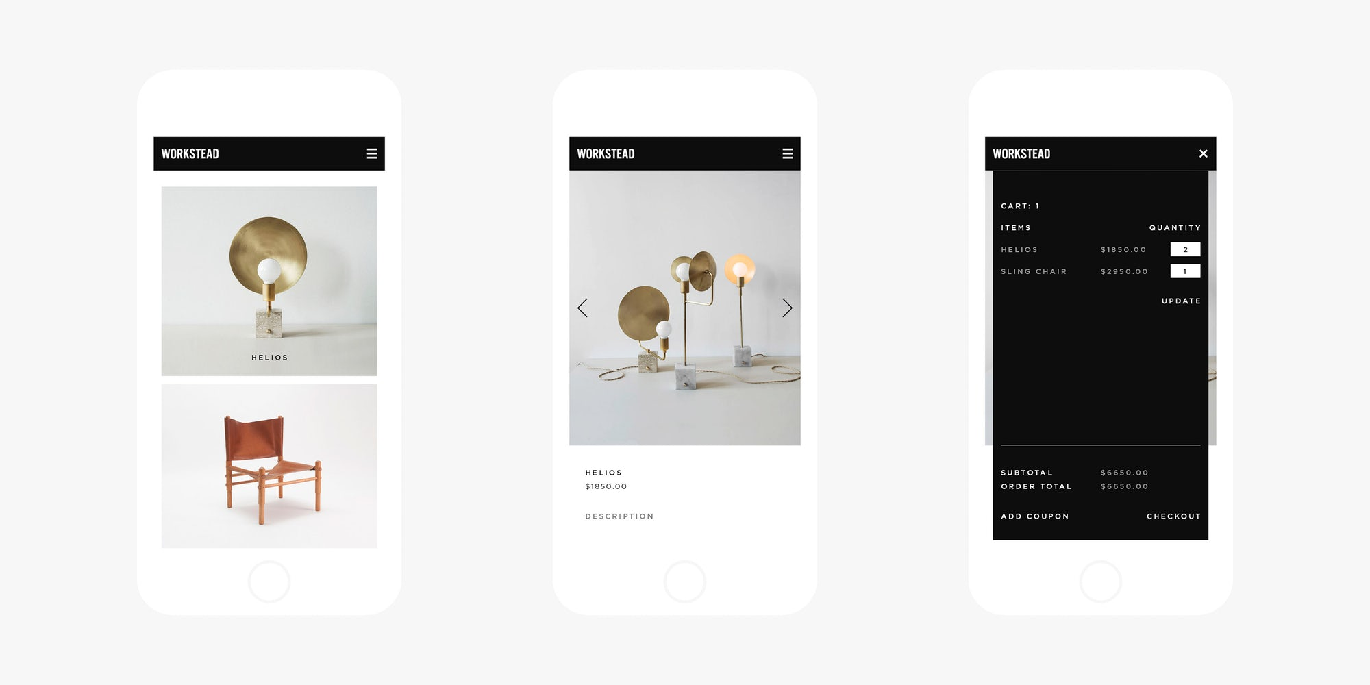 Responsive Mobile Web Design for New York Architects
