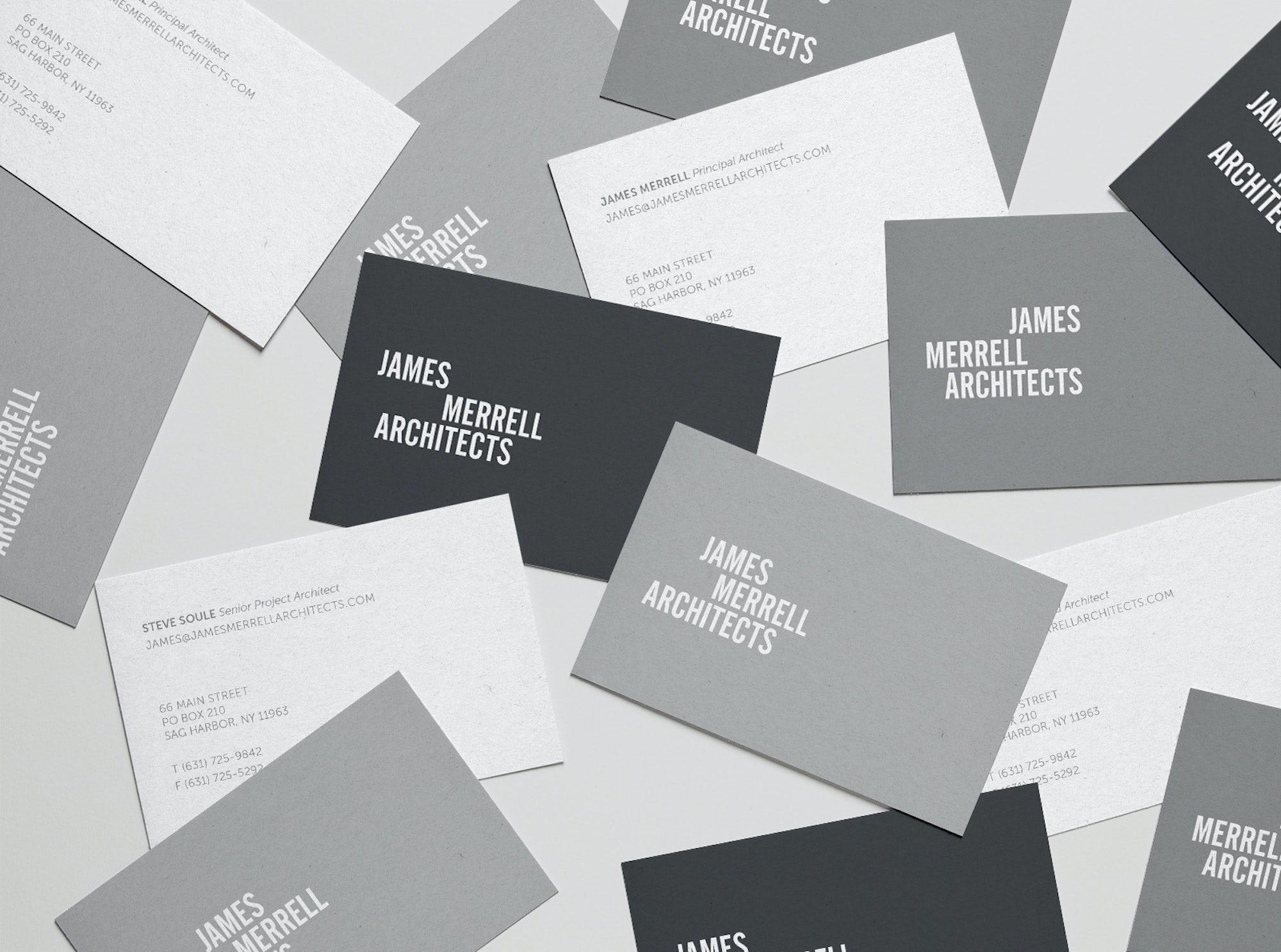 James Merrell Architects Logo Design