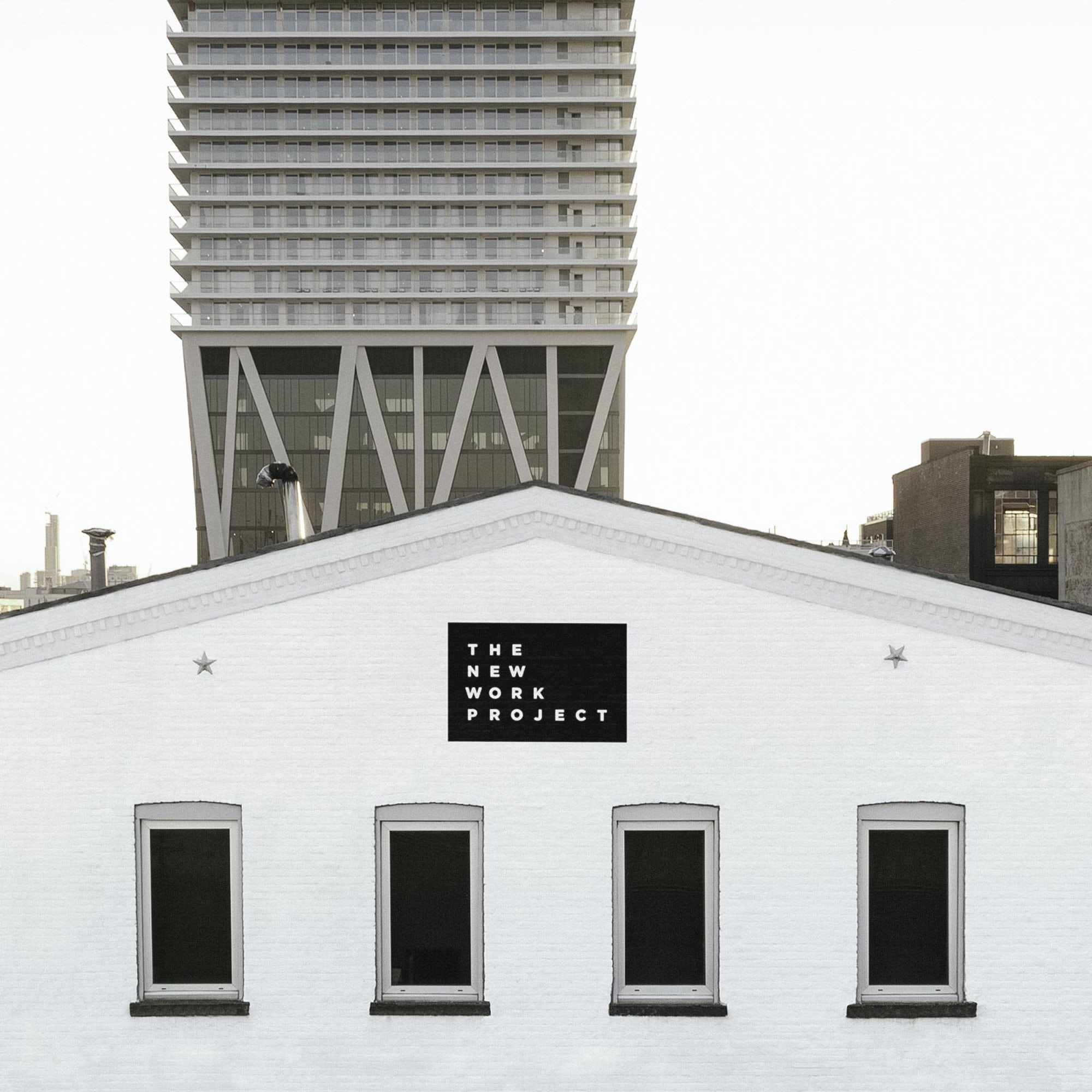 Signage for Brooklyn Coworking Space
