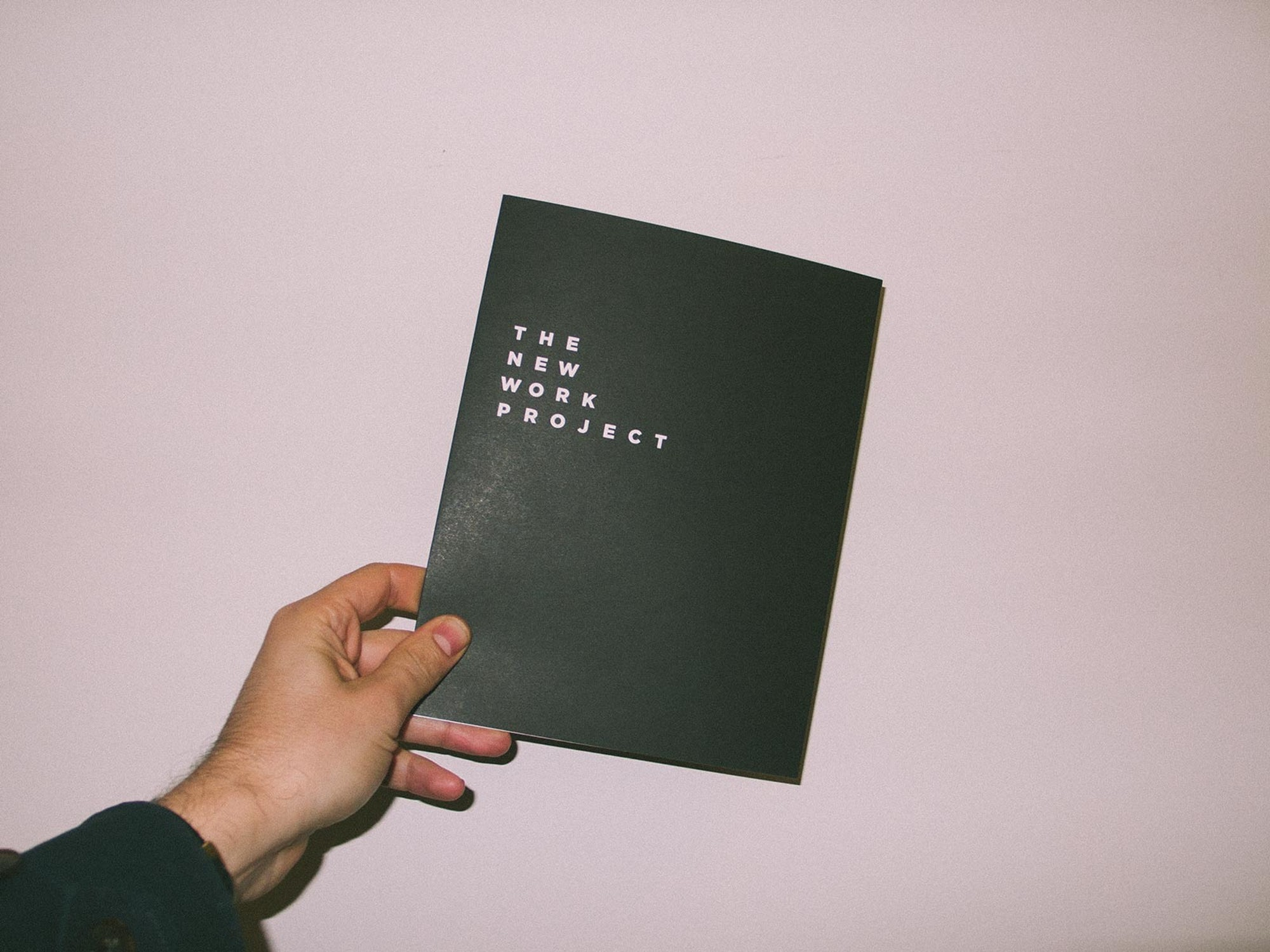 Printed Collateral for The New Work Project