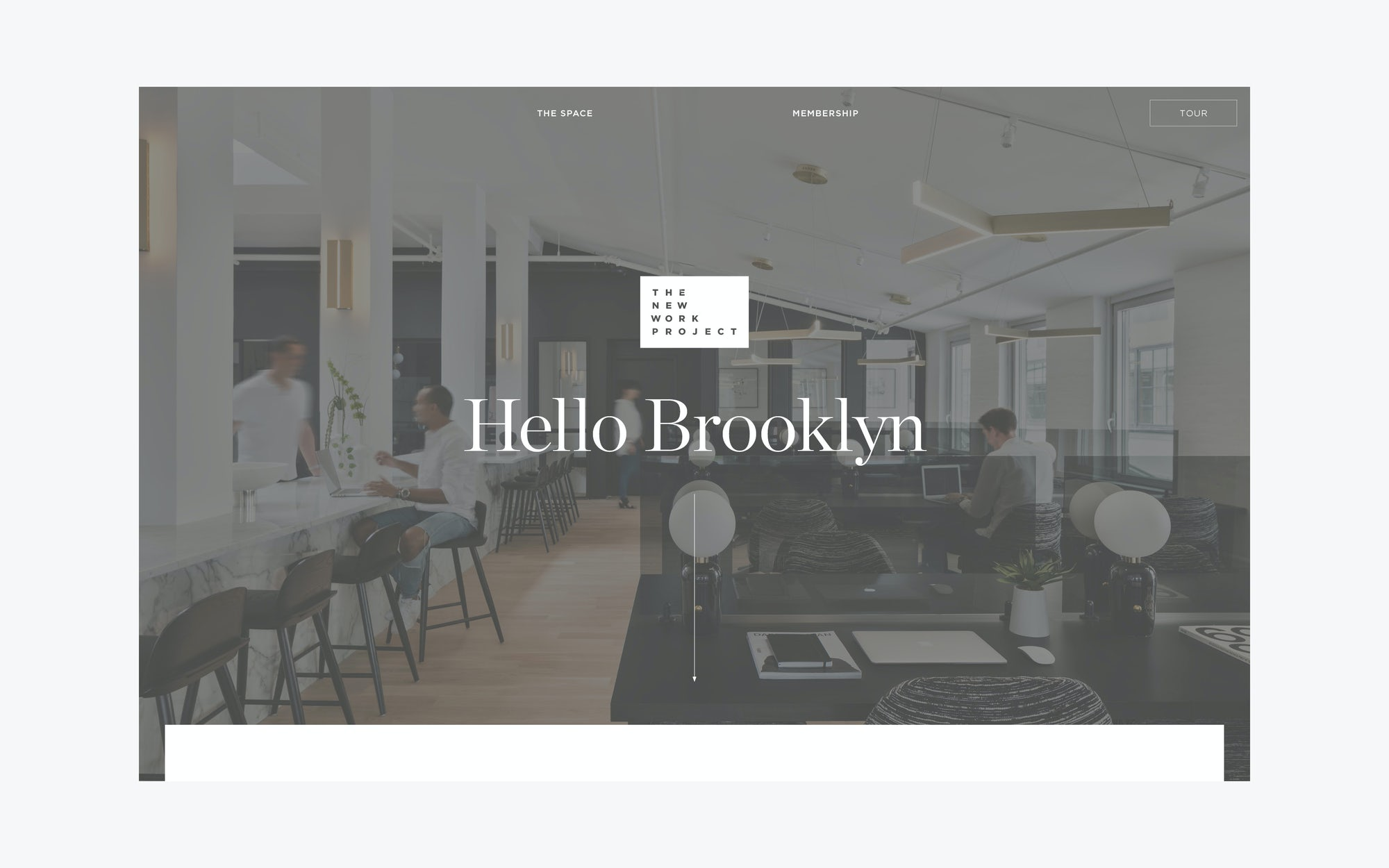 Web Design for Coworking Space in Brooklyn